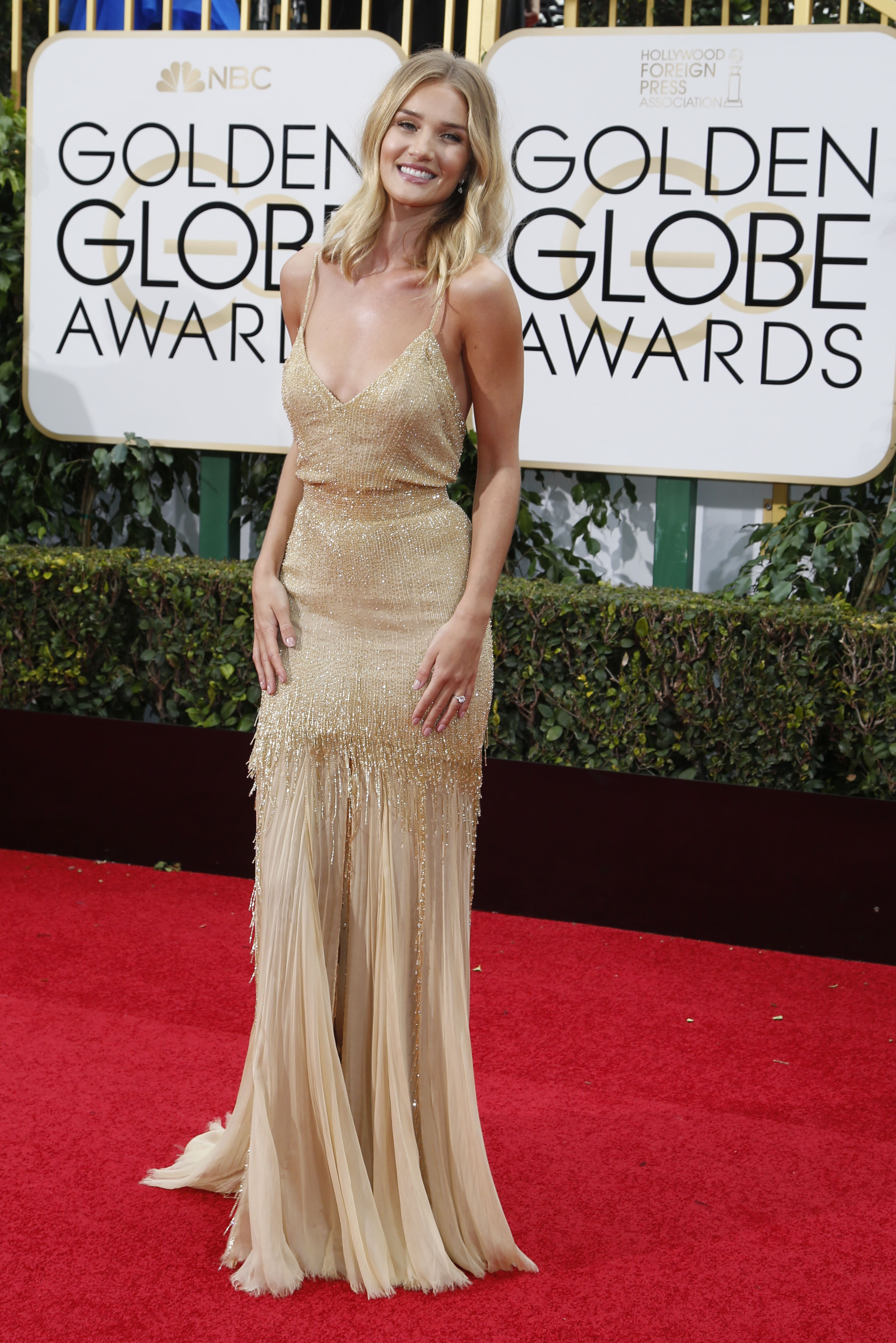 Mandatory Credit: Photo by Action Press/REX/Shutterstock (5528384an) Rosie Huntington-Whiteley 73rd Annual Golden Globe Awards, Arrivals, Los Angeles, America - 10 Jan 2016