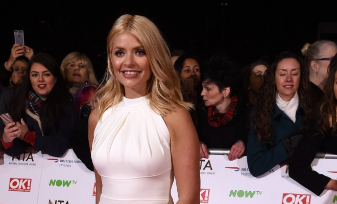 Mandatory Credit: Photo by David Fisher/REX/Shutterstock (5550487xn) Holly Willoughby National Television Awards, The O2, London, Britain - 20 Jan 2016