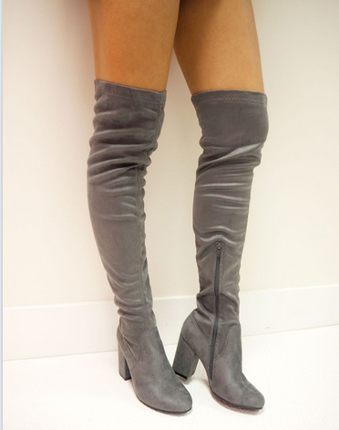 grey-boots